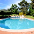 the pool at Podere Vecciale